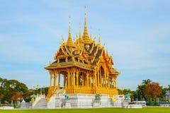 Barom Mangalanusarani Pavillian in the area of Ananta Samakhom Throne Hall in Royal Dusit Palace in Bangkok Royalty Free Stock Photography