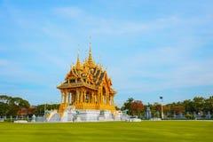 Barom Mangalanusarani Pavillian in the area of Ananta Samakhom Throne Hall in Royal Dusit Palace in Bangkok. Thailand Royalty Free Stock Photos