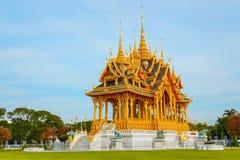 Barom Mangalanusarani Pavillian in the area of Ananta Samakhom Throne Hall in Royal Dusit Palace in Bangkok. Thailand Stock Images