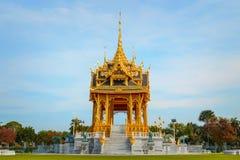 Barom Mangalanusarani Pavillian in Thailand Royalty-vrije Stock Afbeelding