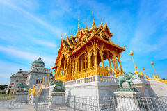 Barom Mangalanusarani Pavillian in Thailand Stock Foto's