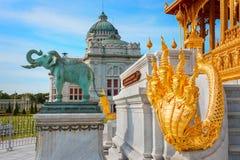 Barom Mangalanusarani Pavillian in Thailand Royalty-vrije Stock Foto's