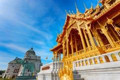 Barom Mangalanusarani Pavillian in Thailand Royalty-vrije Stock Foto