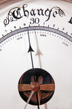 Barometer-Änderung Stockbild
