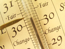 Barometer Stock Afbeelding