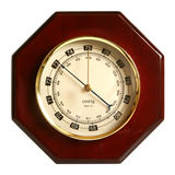 Barometer. Isolated on a white background royalty free stock image