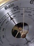 Barometer. Here Comes the Rain Again stock photo