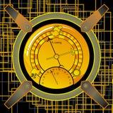 Barometer stock illustration