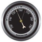 Barometer - air pressure measurements Stock Images
