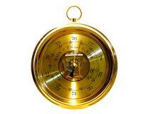 Barometer - apparaat voor weervoorspelling Stock Afbeeldingen