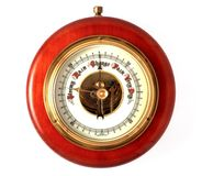 Barometer Changing from Stormy Stock Images