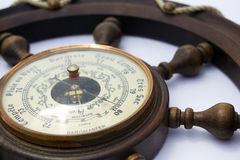 Barometer Close Up Very Dry Royalty Free Stock Photography