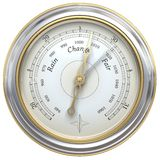 Barometer. 3d render of a barometer Stock Photography
