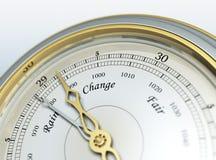 Barometer. 3d render of a barometer Stock Image