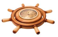 Barometer des Handrades Stockfoto