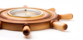 Barometer of handwheel Royalty Free Stock Images