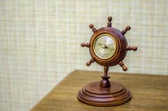 Barometer at home Royalty Free Stock Images