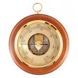 Barometer isolated on white Stock Image