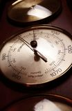 Barometer. With a nice angle Royalty Free Stock Images