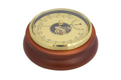 Barometer. Under the white background royalty free stock photography