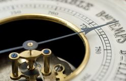 barometertappning Arkivfoton