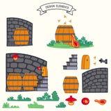 barometriska stock illustrationer