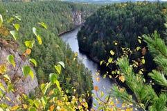 Baron Canyon in fall Stock Photos