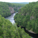 Baron Canyon, Ontario Stock Photography