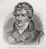Baron Georges Cuvier Photo libre de droits