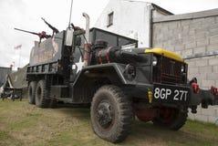 Baron Truck vermelho fotografia de stock royalty free