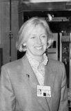 Baroness Hooper. Conservative party Member of the House of Lords, visits the party conference in Blackpool, England on October 10, 1989 Royalty Free Stock Photography