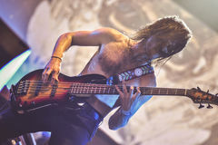Baroness, Nick Jost, live in concert 2017, heavy metal Stock Image