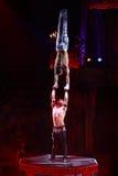 Baronetes do desempenho da mostra do circo em Nizhny Novgorod Fotografia de Stock Royalty Free