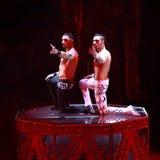 Baronetes do desempenho da mostra do circo em Nizhny Novgorod Fotos de Stock