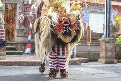 barong和keris舞蹈 免版税库存照片