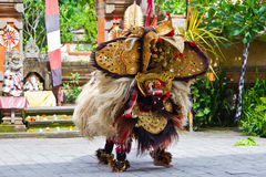 Barong舞蹈在巴厘岛 免版税库存照片