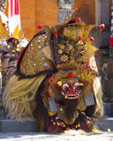 Barong舞蹈在巴厘岛 图库摄影