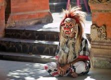 barong舞蹈rangda 图库摄影