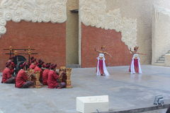 barong χορός παραδοσιακός Στοκ Εικόνες