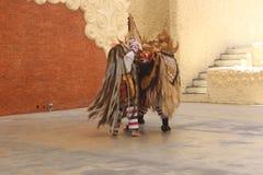 barong χορός παραδοσιακός Στοκ Εικόνα