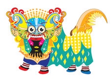 Barong Bali illustration royaltyfria foton