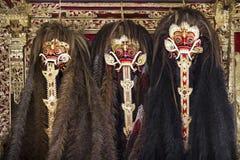Barong costumes Royalty Free Stock Photos