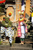 Barong Dance, Bali, Indonesia. Image of a scene from the very impressive Barong Dance performance, showcasing the rich cultural traditions of Indonesia that was Royalty Free Stock Photos