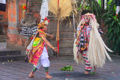 Barong dance, Batibulan, Bali, Indonesia Royalty Free Stock Image