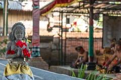 Barong dance. Culture barong Dance hindu theatre Stock Image