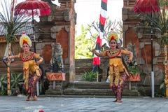 Barong dance. Culture barong dance hindu theatre Royalty Free Stock Photography