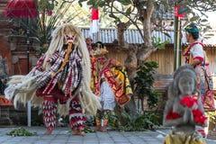 Barong dance. Culture barong dance hindu theatre Stock Photography