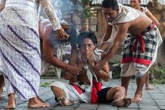 Barong dance. Culture barong dance hindu theatre Royalty Free Stock Image
