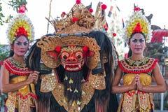 Barong dance. Culture barong dance hindu theatre Royalty Free Stock Photos