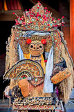Barong dance mask of lion, Ubud, Bali Royalty Free Stock Photos